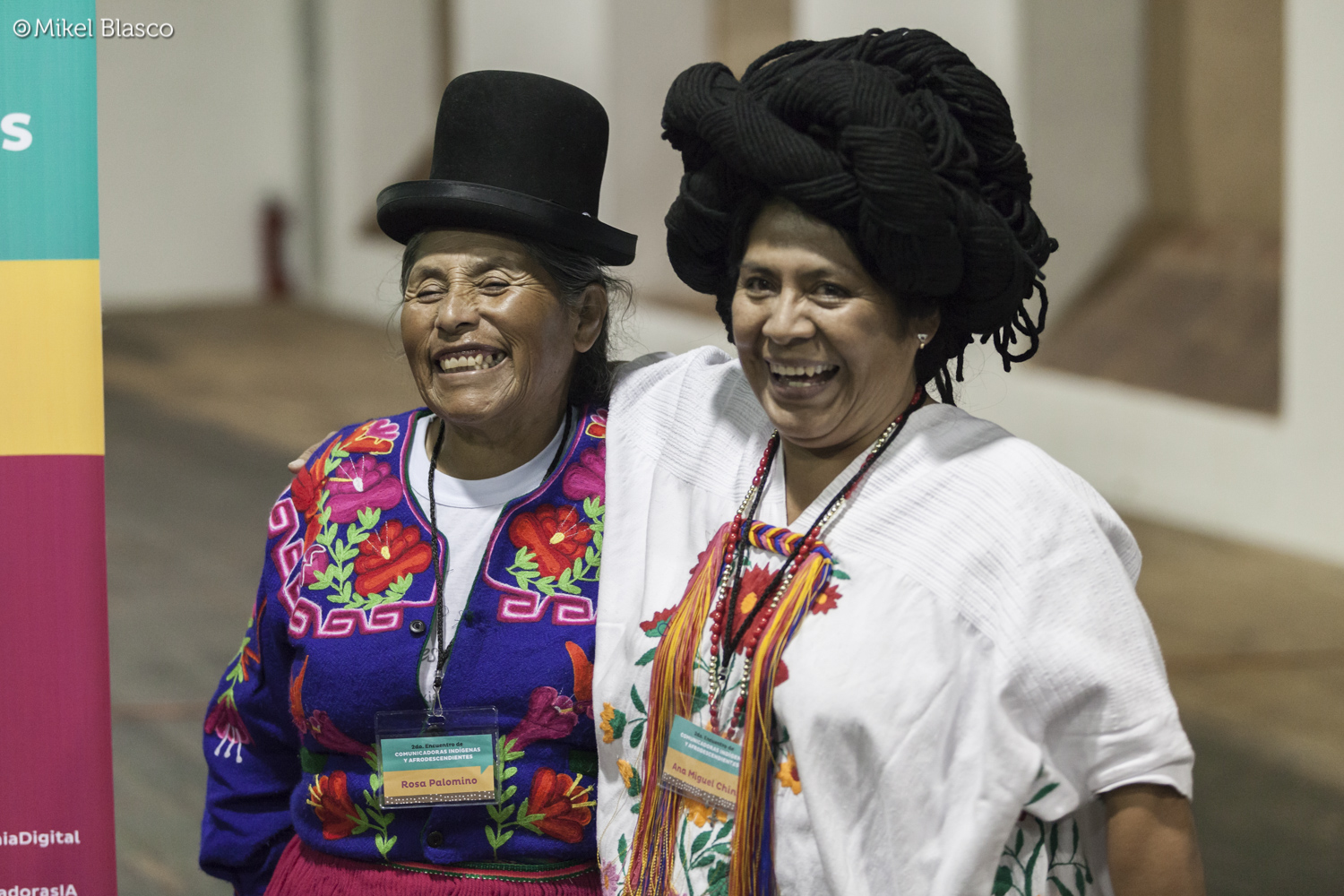 Photograph taken during the Meeting of the Indigenous and Afro-descendant Communicators in Oaxaca, México, 2015. Credit: Mikel Blasco/CCEMx (Spanish Cultural Center). Image used with permission from the Digital Citizenship Laboratory.