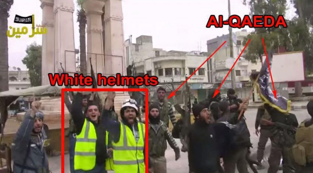 White Helmets are part of the terrorist organization, Al Nusra.